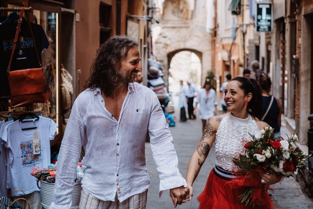 Intimate Italian Wedding