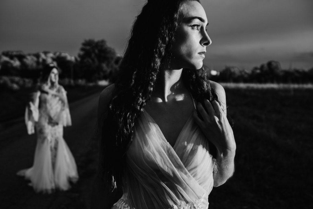 women inspiration wedding same sex into the field